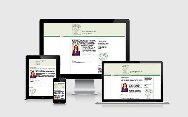 Website Steuerberaterin Petra Weide, Lüneburg