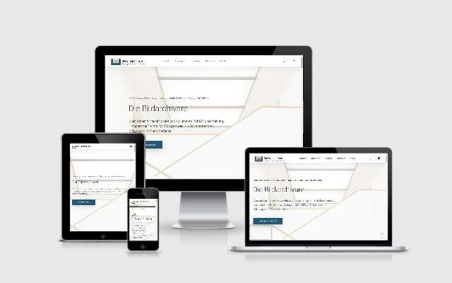 WordPress Website für Die Bildarchivare
